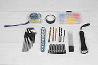 Акумуляторний шуруповерт MAKITA DF 330 DWE і набір інструментів з вольтметром в кейсі (Шуруповерт Макіта), фото 7