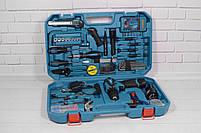 Акумуляторний шуруповерт MAKITA DF 330 DWE і набір інструментів з вольтметром в кейсі (Шуруповерт Макіта), фото 3
