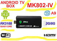 MK802 IV Quad Core Android Smart TV Box+ Built-in Bluetooth