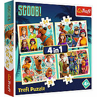 """Puzzles - """"4in1"""" - Scooby Doo and friends / Warner Scooby Doo - Scoob Movie"""