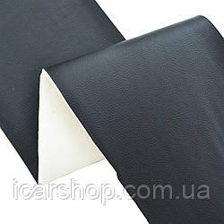 Кожзаменитель 585 Черный (1,45м) / На поролоне 5мм