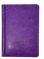 Ежедневник ЗВ-15 SARIF фиолетовый А6