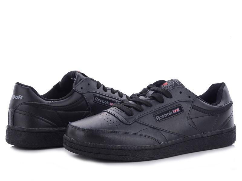 Подростковые, демисезонные кроссовки Reebok Workout Classic,черные