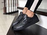 Подростковые, демисезонные кроссовки Reebok Workout Classic,черные, фото 3