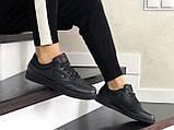 Подростковые, демисезонные кроссовки Reebok Workout Classic,черные, фото 5