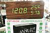 Настільні електронні годинник VST-862S в дерев'яному корпусі з температурою і датчиком вологості, фото 8