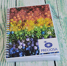 Карта цветов бисера Preciosa (живая)