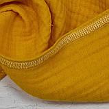 Муслиновый плед для малят (4 шари мусліну), 80х100 см, фото 2