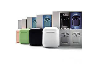 Бездротові сенсорні навушники TWS i12 Pods Bluetooth