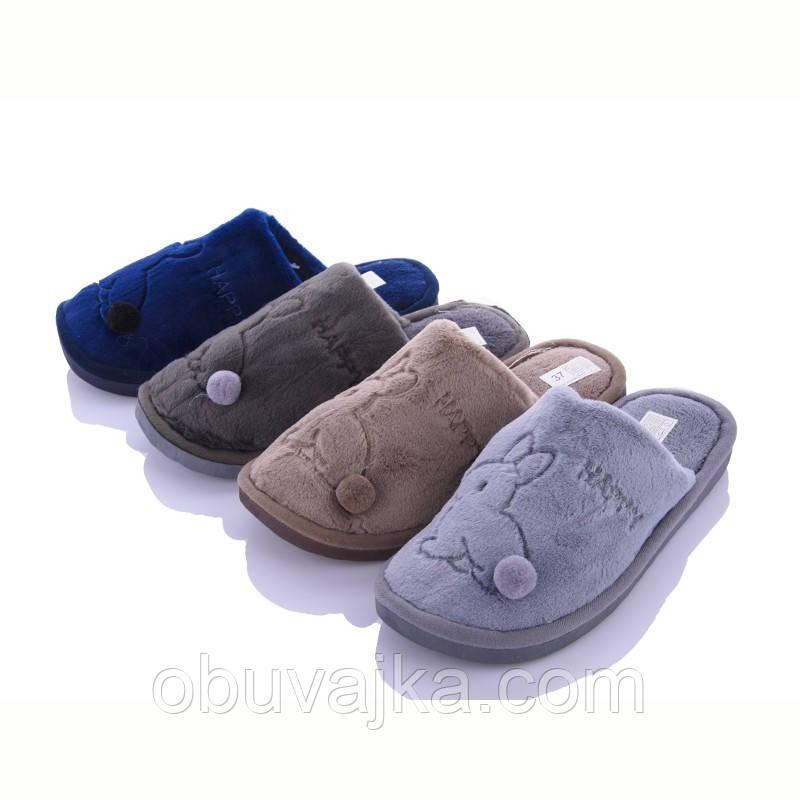 Зимняя обувь оптом Комнатные зимние тапочки 2021 бренда Lion (рр. 36-41)