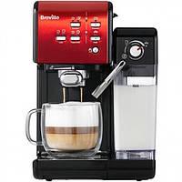 Кофемашина Breville VCF109X_eu автоматична кавоварка з капучинатором 19 бар