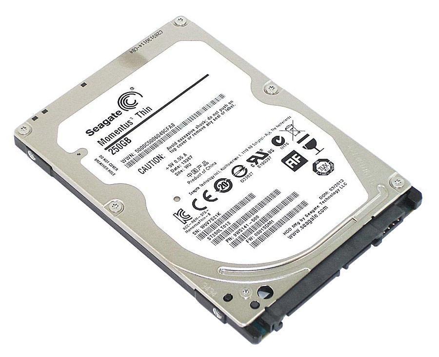 Жесткие диски и SSD для ноутбуков