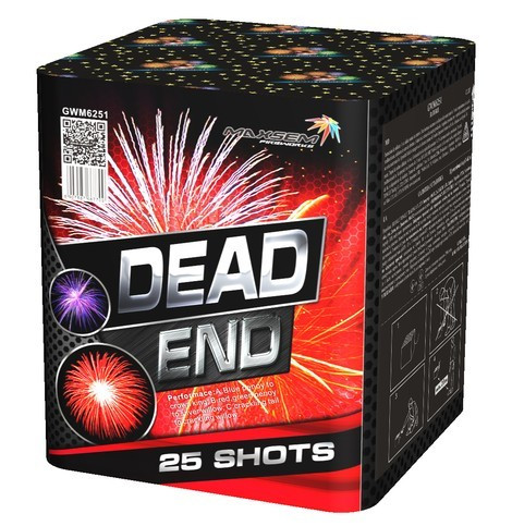 Салют DEAD END Калібр 30 \ 25 пострілів GWM6251