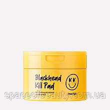 Пэды  для очищения кожи с AHA BHA PHA кислотами Manyo Blackhead Kill Pad 50 ea
