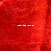 Махровая ткань Красный