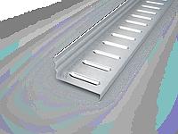 Горизонтальный профиль для крепления фасадного камня