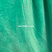 Махрова тканина Бірюза ( Зелений)