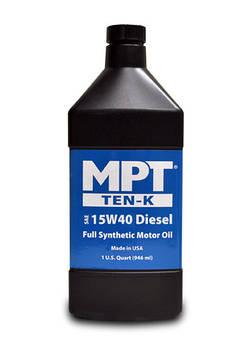 MPT ® 15W-40 Diesel Ten-K Full Synthetic Motor Oil