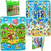 Дитячий ігровий килимок EVA двосторонній в сумці, 180х120 см (36559)