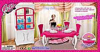 Игрушечная мебель для кукол Gloria 3012 ресторан