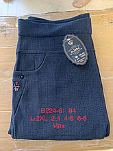 Жіночі теплі штани на хутрі розмір L-2XL 2-4XL 4-6XL 6-8XL з кишенями