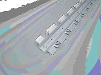 Профиль вертикальный,профиль для мармарка( сканрок)