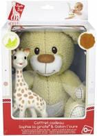 """Подарочный набор - игрушки Vulli """"Мишка Габби и жирафик Софи"""" 850516"""
