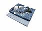 Комплект постельного белья евро из сатина Grey Love 200х220 см, фото 2