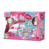 Игрушечная машина скорой помощи для куклы QL049-2 больница на колесах + Подарок, фото 2
