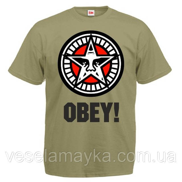 "Футболка ""Obey Star"""