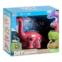 """106748 [269-55] Конструктор 269-55 (96/2) """"Динозавр"""", 13 деталей, рухомі кінцівки, викрутка, в коробці"""