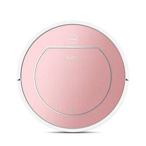 Робот-пылесос iLife V7S PLUS Roze gold