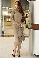 Облегающее трикотажное платье 40-46 размер разные цвета