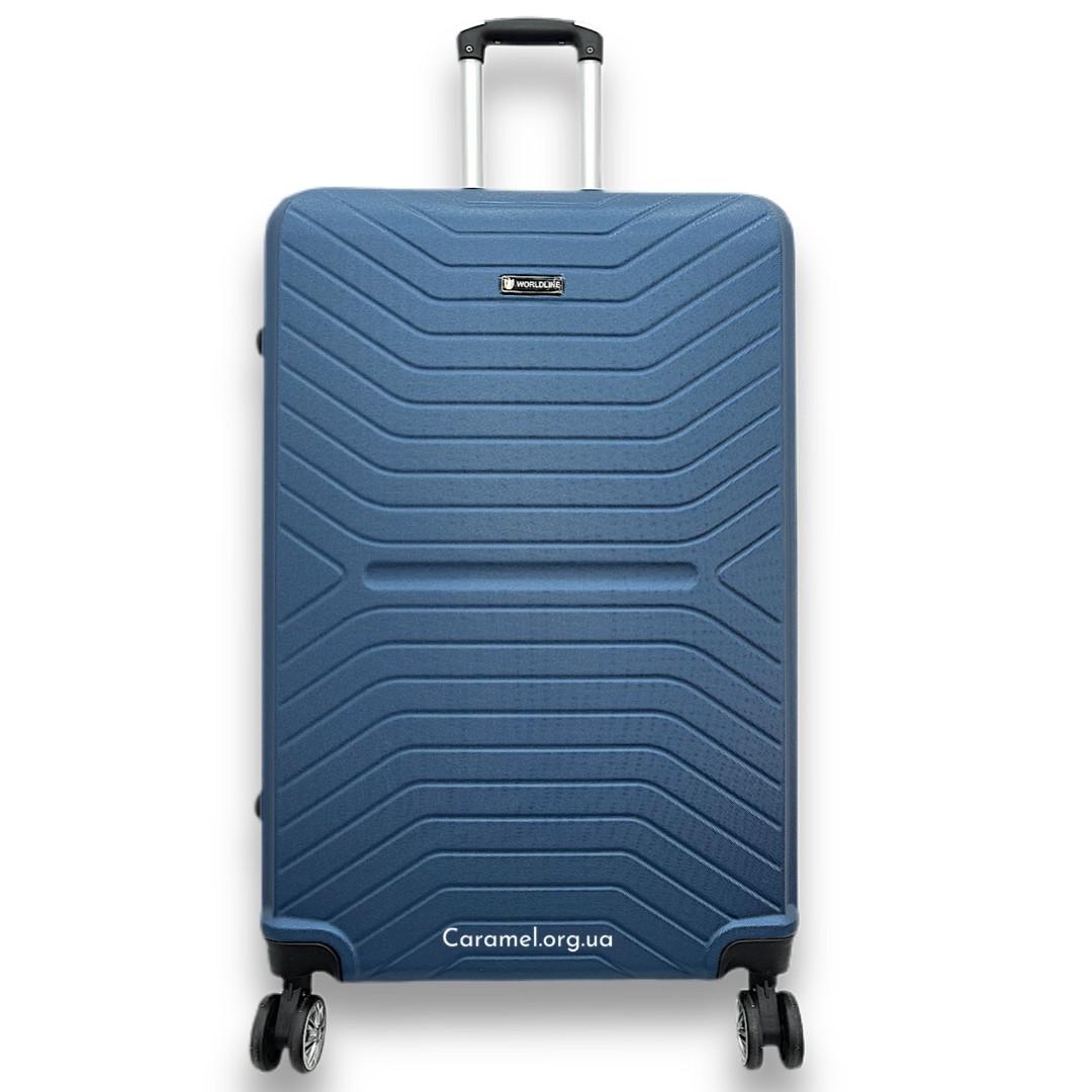 Валіза полікарбон 4 колеса L 76 x 49 x 29 cm 3,9 kg 98 L 625 синій