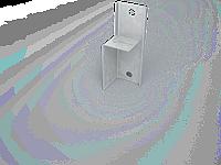 Кронштейн фасадный (кронштейн выравнивающий стальной оцинкованный),профиль для ЛСТК