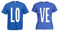 """Парная футболка """"Love"""""""