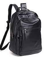 Мужской кожаный рюкзак Keizer K1519-black
