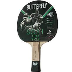 Ракетка для настольного тенниса Butterfly Timo Boll SG11 9574 ZZ, КОД: 1552786
