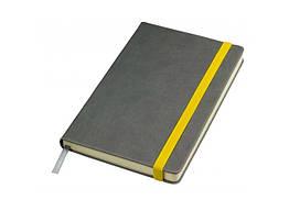 Бізнес-блокнот Adenki Fancy на жовтій резинці 76-152-15114808 ZZ, КОД: 1852167