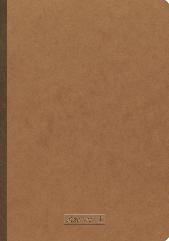 Блокнот Brunnen А4 з чистими аркушами FACTplus 96 аркушів Коричневий ZZ, КОД: 1937735