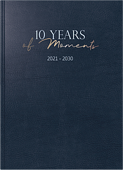 Ежедневник Brunnen 21 х 29.1 см 400 страниц на 10 лет ZZ, КОД: 2477179