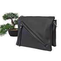 Жіноча стильна сумка-клатч штучна шкіра сірий Арт.KDL-118 gray Fashion Leisure (Китай)