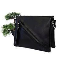Сумка клатч чорний штучна шкіра Арт.KDL-118 black Fashion Leisure (Китай)