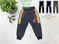 Спортивные брюки для мальчиков с начесом Seagull 98-128p.p.