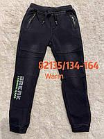 Джоггеры під джинс для хлопчиків на хутрі Seagull 134-164 p.p.