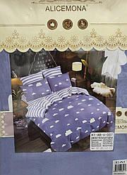 Набор двухстороннего постельного белья ЕВРО 4 НАВОЛОЧКИ