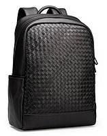Мужской кожаный рюкзак Borsa Leather k168008-black, фото 1