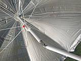Пляжний зонт блакитний з пальмами 2 метри колір 3а, фото 3