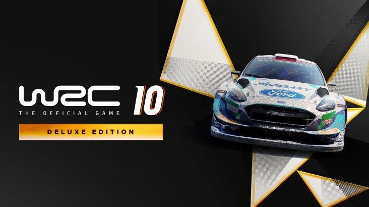 WRC 10 FIA World Rally Championship - Deluxe Edition ключ активации ПК