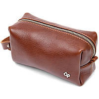 Чоловіча сумочка з натуральної шкіри GRANDE PELLE 11414 Коричневий